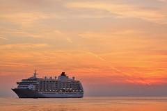 Anchored off Rovinj, Croatia (^ Johnny) Tags: cruise sea ship or croatia vessel cruiseship peninsula rovigno rovinj adriatic adriaticsea anchored istrian rovinjcroatia    ruvigno ruvegno  ryginion