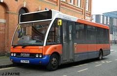 Centrebus (223) Optare Solo - PJZ 9451 (J.J.Pay 8581) Tags: uk england orange bus leicester transport midlands nis pjz9451 yc51gzx