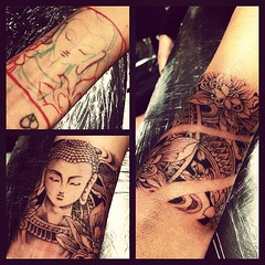 Buddha bracelet freehand tattoo :)  J-14 (starasian-tattoo) Tags: paris france art tattoo ink square asian design khmer buddha main manga bouddha tattoos creation squareformat brannan bracelet asie freehand tatoos budha yakuza tatoo artistes japonais inked boudha tattooart leve artiste asiatique ornement tats tatouage irezumi bouda tattoodesign tatou tatouages japanesetattoo freehandtattoo vietnamien asiantattoo thailandais buddhatattoo sloft iphoneography starasian instagramapp uploaded:by=instagram starasiantattoo thesloft