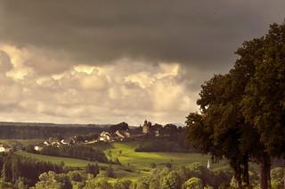 NOZEROY, Landscape of the Haut-Jura.