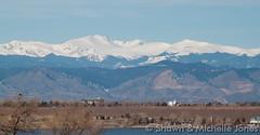 March 15, 2015 - Longs Peak looks gorgeous on a clear day. (Shawn & Michelle Jones)