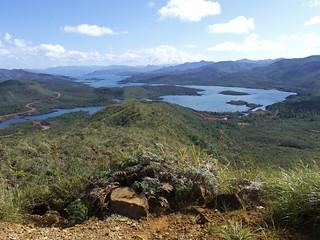 Province sud, vue sur le lac de Yaté