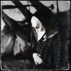 Masked Maternity (Alice Teeple) Tags: baby strange metal weird mask gothic goth pregnancy maternity masks motherhood