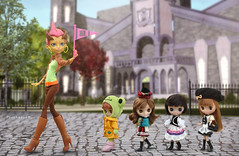 Welcome to Monster High (PruchanunR.) Tags: monster high doll blythe petite