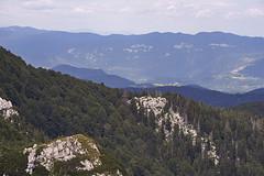 View from Veliki Risnjak (ir0ncevic) Tags: park summer green nature forest spring nikon hiking national summit nikkor lug crni planinarenje veliki nacionalni risnjak
