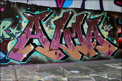 Alma (Alex Ellison) Tags: northlondon mhb urban graffiti graff halloffame hof ctr cityrollers alma boobs