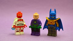 Sometimes Bad (th_squirrel) Tags: lego dc comics minifig minifigure minifigs minifigures rocket red lex luthor power suit azrael jean paul valley batman