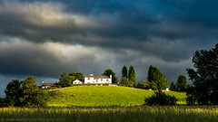 The Whitehouse ( explored ) (NED_KELLY_GUY) Tags: family summer house storm electric clouds contrast warning dark countryside moody cloudy farm lakedistrict meadow dramatic july fresh spotlight pasture angry static hillside highlight rolling hilltop whitewash turmoil bask hawkshead climatic forbode