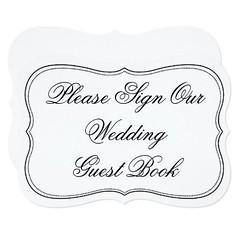 (Elegant Please Sign Our Wedding Guest Book Sign Card) #Black, #BlackAndWhite, #BlackAndWhiteWeddingSigns, #Bracket, #Chic, #Cute, #CutomSign, #Elegant, #ElegantSign, #GuestBookSign, #Guestbook, #Marriage, #New, #NewSign, #PleaseSignOurGuestBook, #PleaseS (CustomWeddingInvitations) Tags: elegant please sign our wedding guest book card black blackandwhite blackandwhiteweddingsigns bracket chic cute cutomsign elegantsign guestbooksign guestbook marriage new newsign pleasesignourguestbook receptions romantic romanticsign script simple swirls trendy vintage weddingreceptionguestbooksign weddings white whitewedding whiteweddingsigns is available custom unique invitations store httpcustomweddinginvitationsringscakegownsanniversaryreceptionflowersgiftdressesshoesclothingaccessoriesinvitationsbinauralbeatsbrainwaveentrainmentcomelegantpleasesignourweddingguestbooksigncard weddinginvitation weddinginvitations