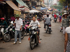 another woman (grapfapan) Tags: street people woman candid streetlife scooter vietnam motorbike hanoi oldtown