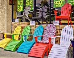 Adirondack Chairs (tpbsr) Tags: summer colors chairs adirondack worldmarket costplus