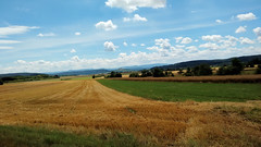 Erntezeit (mellane.karin) Tags: summer landscape sommer harvest landschaft ernte ammertal