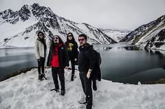 Grupo (ANDYFOTEIKER) Tags: embalse el yeso cajon del maipo sergio mella region metropolitana santiago chile turismo nieve montaa viajes