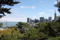 San Francisco from Telegraph Hill (joseph a) Tags: sanfrancisco california skyline telegraphhill coittower