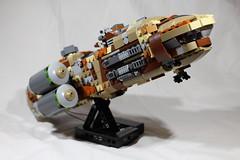 "GAWS-3 ""Nebula Prime"" 1 (LegoLord82) Tags: lego micro space spacestation future star trek wars aliens outer futuristic"