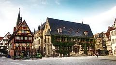 Quedlinburg / Germany (_BSnake_) Tags: quedlinburg germany fachwerk alt mittelalter old town germanyhistoric historisch marktplatz zentrum centrum rathaus