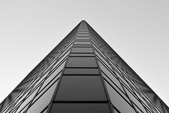 peak [181] (yegor454) Tags: architecture art minimal minimalism dark blackandwhite black vancouver bc british columbia symmetry perfect sigma 35mm lense canon 60d