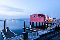 Hora azul Combarro (Jesús Juanatey) Tags: agua sea mar puerto amanecer dawn aurora surise horaazul