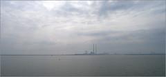 Bull Wall In Fog (NIKKI O BRIEN) Tags: dublin beach sea bullwall dollymount ireland lx5 fog mist rays light
