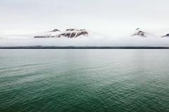 Cloud-Covered Mountain (danielfoster437) Tags: arctic svalbard natuur landscape naturelandscapewithwater mountains tundra fjord adventure terrain spitsbergen extremeterrain naturelandscape outdoors seascape cloudcoveredmountains norwegianfjord coast mountain