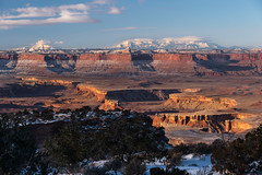 Time Out of Mind (courtney_meier) Tags: henrymountains whiterim snow desertsnow canyonlands canyonlandsnationalpark canyon mountains morning morninglight goldenlight goldenhour sunrise utah