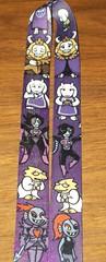 100_7735 (Amane-chan) Tags: akon anime convention akon27 buttons lanyard undertale chara frisk flowey flower