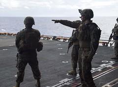 160822-N-YR245-072 (SurfaceWarriors) Tags: boxarg13meu16 ussboxerlhd4 amphibiousreadygroup 13thmarineexpeditionaryunit 13thmeu usmarines usnavy cpr1 northpacificocean