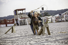 Learning the Ropes (Dorret) Tags: jbarwranch cowboy lasso rope roping boy teacher teach learning example throw rodeo summer maryland unionbridge sun smile americana rural