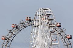 Ferris wheels, Prater, Vienna, Austria (maxunterwegs) Tags: amusementpark austria autriche ferriswheel granderoue noria parcdattractions parquedeatracciones parquedediverso prater riesenrad rodagigante themepark vergngungspark vienna wien sterreich