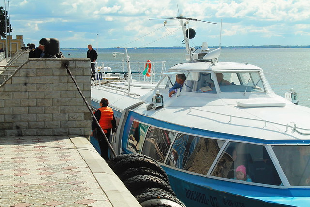 Рейсы изСамары вСызрань отменили из-за поломки судна «Восход»