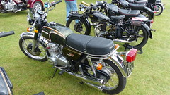 1973 Honda CB350 Four Reg: JKH 151L (bertie's world) Tags: lincolnshire steam rally 2016 lincoln showground 1973 honda cb350 four reg jkh 151l