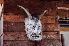 Maske (Frick Turnerstick) Tags: maske mask teufel hrner devil dmon demon sdtirol italien