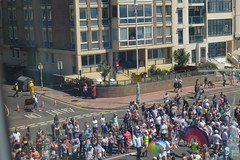 Pride from the Rising Gondola (CoasterMadMatt) Tags: britishairwaysi3602016 britishairwaysi360 british airways i360 brightontower tower towers observationtower newfor2016 new brighton2016 brighton seasidetowns seaside town towns brightonpride2016 brightonpride pride prideparade parade view views viewpoint building structure architecture britishseaside southeastengland england britain greatbritain gb unitedkingdom uk august2016 summer2016 august summer 2016 coastermadmattphotography coastermadmatt photos photography photographs nikond3200 sussex englandssouthcoast