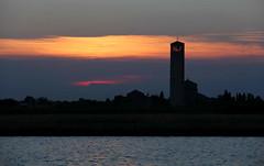 Storia (lincerosso) Tags: torcello venice venezia lagunadivenezia tramonto cielo sky storia profili estate bellezza armonia suggestione
