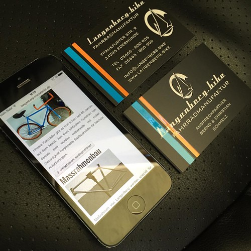 Visitenkarten für unsere Kunden der Marke Langenberg.bike #corporate #visitenkarte #corporatedesign #briefpapier #corporateidentity #jpswerbung #print #prints #printdesign #druck #druckdesign #printmedien #printmedia #businesscards #businesscard #gutschei