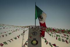 Viva Mxico 2016 (pupiix) Tags: septiembre mexico bandera atardecer tiempo escudo rojo verde blanco