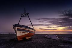 Andalucia  Espaa (Joseba Grajales) Tags: andalucia espaa almuecar atardecer sunset mar barca nikon nikond750 agua water color