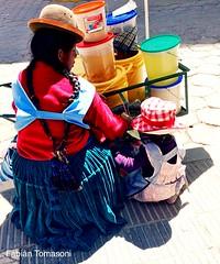 Villazon, Bolivia (NFTOMY) Tags: argentina laquiaca urbano street streetphoto urbanphoto urban iphone iphonephoto vacation vacaciones trip travel traveler cultura gente people frontera boliviano bolivia villazon airelibre colores calles mercados mercadillos ventacallejera market