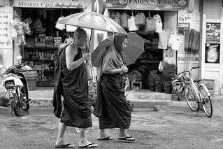 Monks in Inle Lake