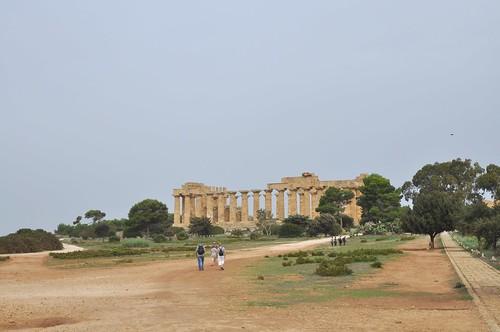 Selinunte (Sicilia-Italia). Templo E o de Hera