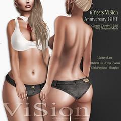 (ViSion} -S&F *Cheeky Bikini - Anniversary Gift 2016 (pjey Pearl - {ViSion} -S&.F) Tags: free gift anniversary {vision}sf pjeypearl promotion 50 off