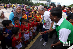 Pelancaran Hari Sukan Negara-KBS.Putrajaya.8/10/16 (Najib Razak) Tags: pelancaran hari sukan negara kbs putrajaya