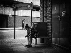 DSCF4415 (Neil Johansson LRPS) Tags: fuji fujifilm x30 fujifilmx30 black white blackandwhite monochrome bw noir neonoir filmnoir cinematic urban urbanphotography streetphotography light dark figures people wolverhampton westmidlands uk england midlands