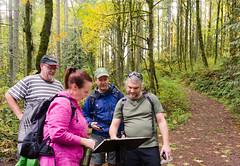 hiking buddies (tangocyclist) Tags: forestpark portland oregon trail