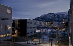 5 (Sergio Eschini) Tags: tromso viaggio travel norvegia normay snow december inverno winter crepuscolo natura landscape citt city