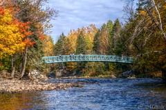 151012-01 Rivire St-Charles (clamato39) Tags: rivirestcharles parcchauveau villedequbec provincedequbec qubec canada river pont bridge autumn automne