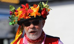 Faces at the Swanage Folk Festival - Dorest  (29) (Richard Collier - Wildlife and Travel Photography) Tags: dorset swanage swanagefolkfestival people morrisdancers