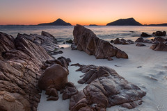 Nelson Bay twilight (FPL_2015) Tags: portstephens nelsonbay nsw australia landscape sunrise rocks beach water seascape canon6d canon1635f4lis gnd09