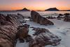 Nelson Bay twilight (FPL_2015) Tags: portstephens nelsonbay nsw australia landscape sunrise rocks beach water seascape canon6d canon1635f4lis gnd09