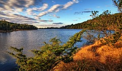 Krokavatnet, Norway (Vest der ute) Tags: norway g7x rogaland haugesund djupadalen waterscape landscape clouds trees water autumn fav25